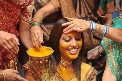 Индийские ритуалы и традиции-куркума