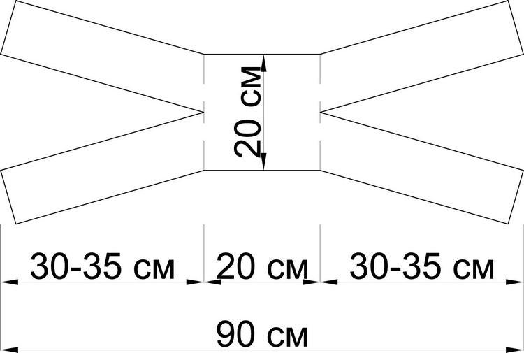 Многоразовая ватно-марлевая повязка-как сделать