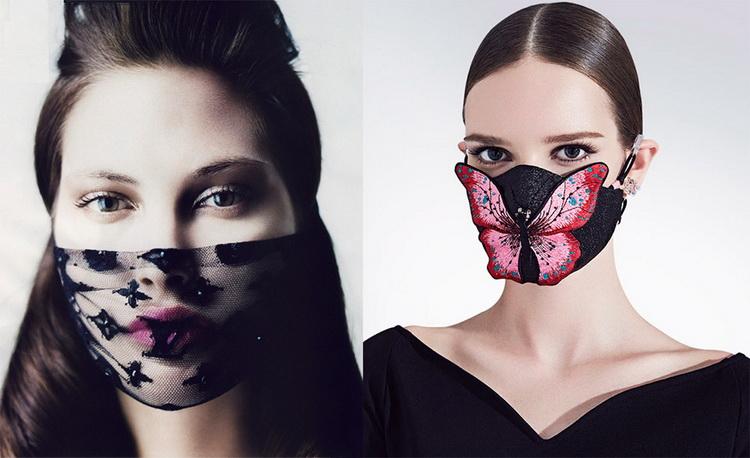 Модные защитные маски-стритстайл