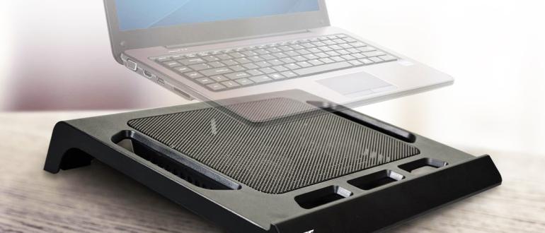 Ноутбук-охлаждающая подставка