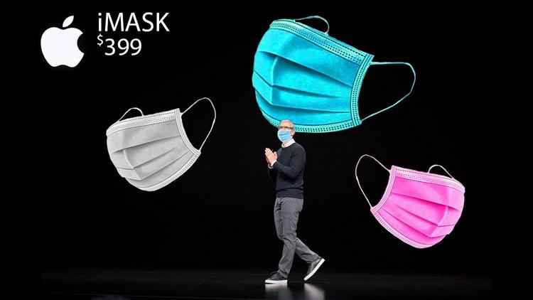 Псевдопрезентация-новая маска от Apple