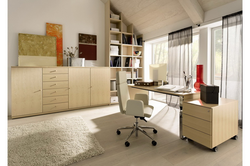 Рабочий кабинет-комната