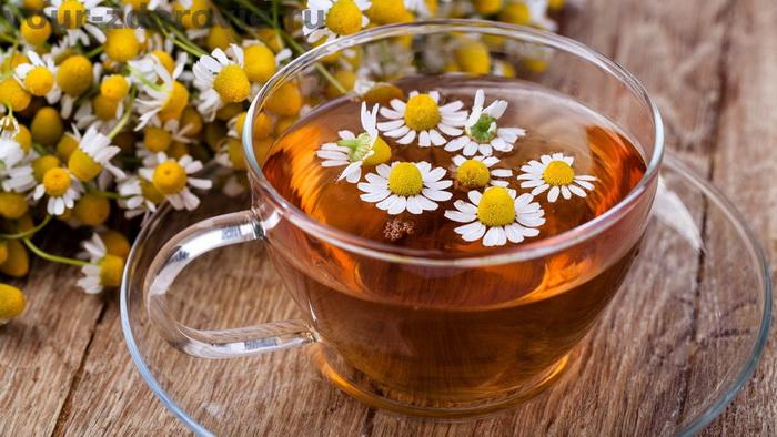 Ромашковый чай-на ночь