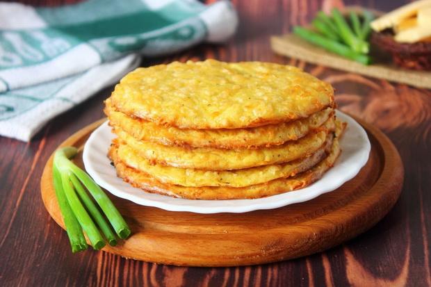 Сырные лепешки в духовке-рецепт