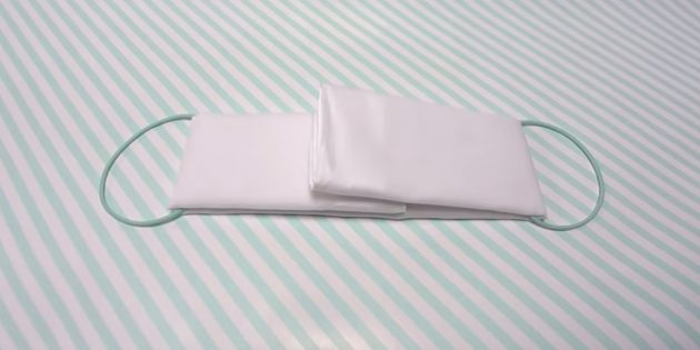 Тканевая маска своим руками-шаг 6