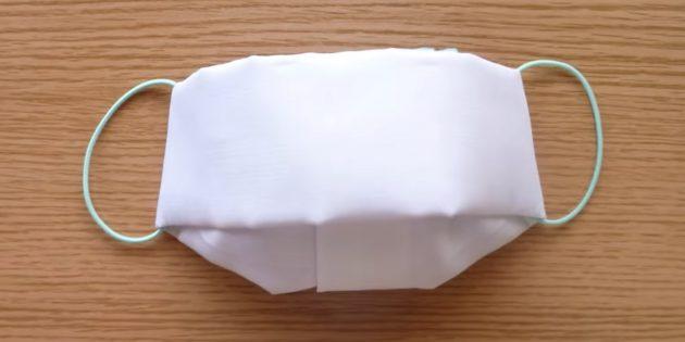 Тканевая маска-своими руками
