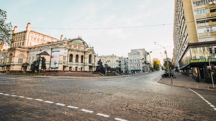Тотальный карантин-Киев