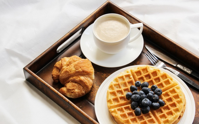 Вафли-на завтрак