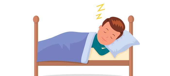 World Sleep Day-спящий человек