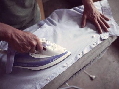 як прасувати сорочку