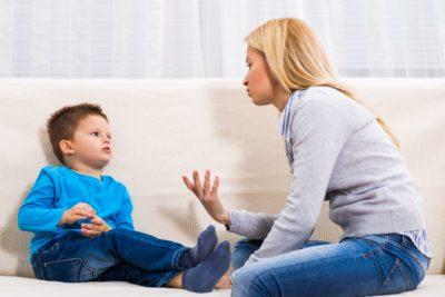 учить говорить