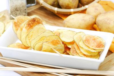 як зробити чіпси вдома