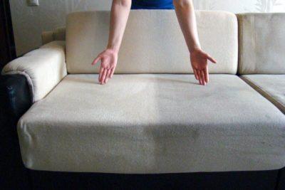 засіб для чищення дивана