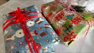 як упакувати подарунок у папір