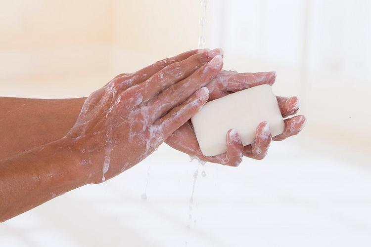 фото вода-мыло.