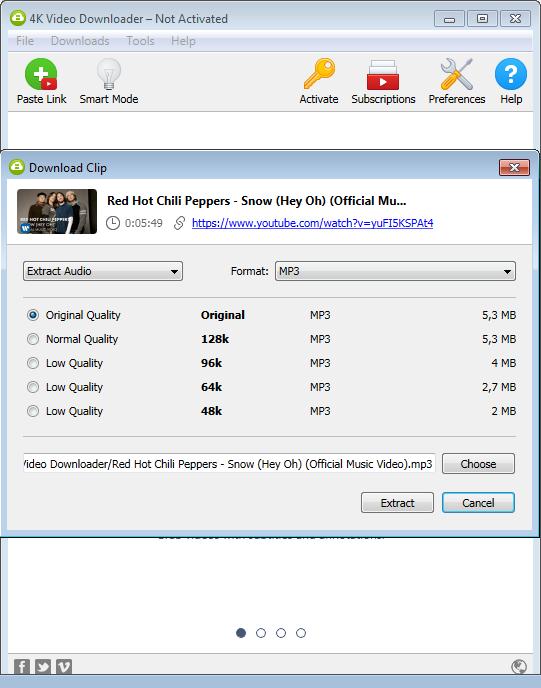 4KVideo Downloader