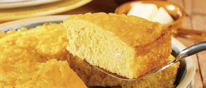 Cornbread-с сыром