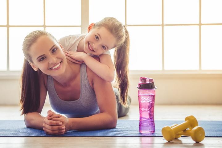 Фитнес-с ребенком