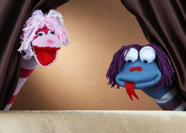 Кукольный театр-чем занять ребенка