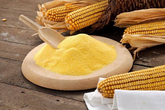 Кукурузная мука-фото