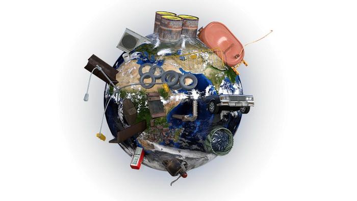 Земля-мусор