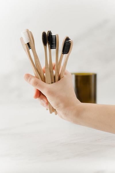 Зубные щетки-бамбук