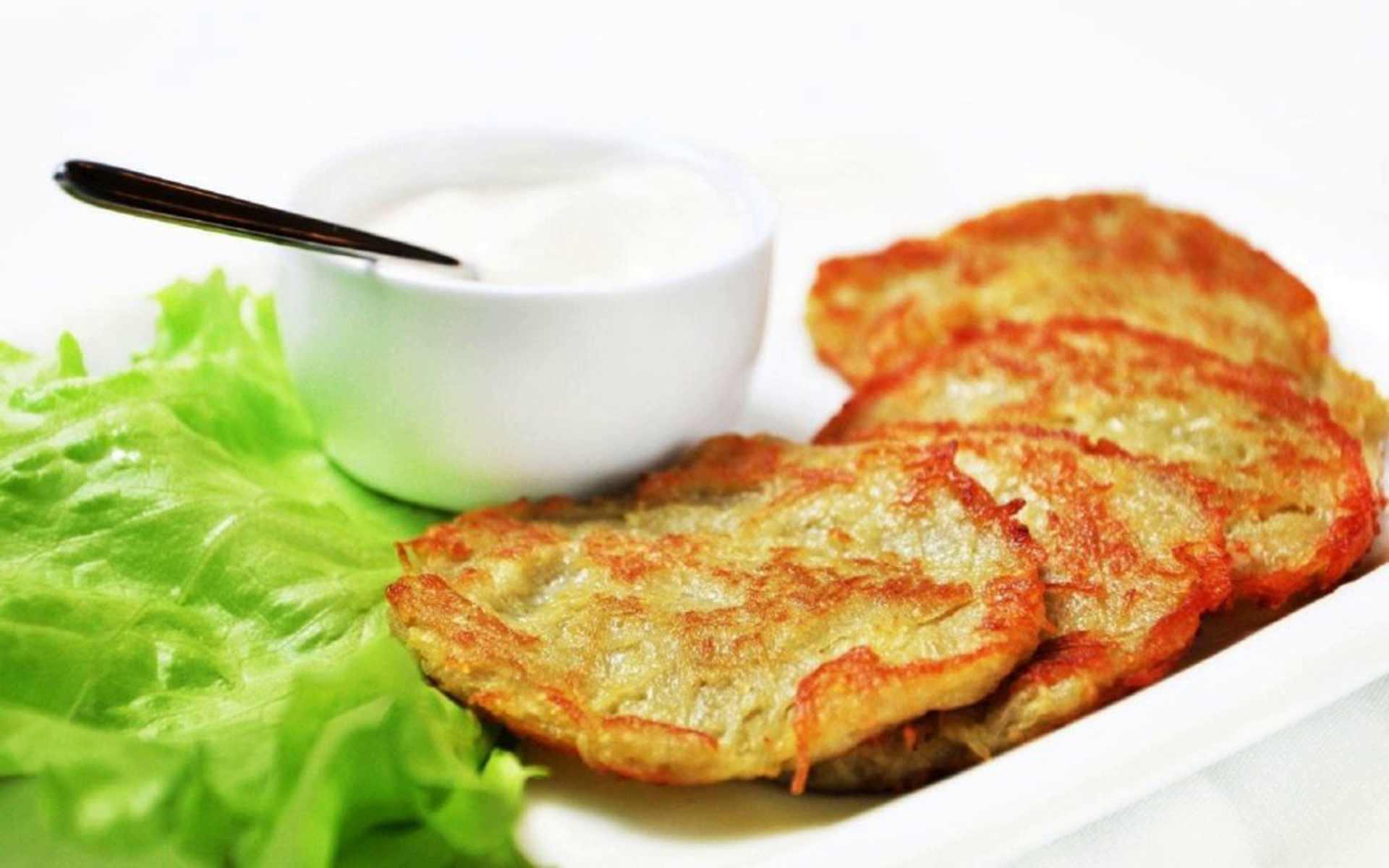 деруни з картоплі