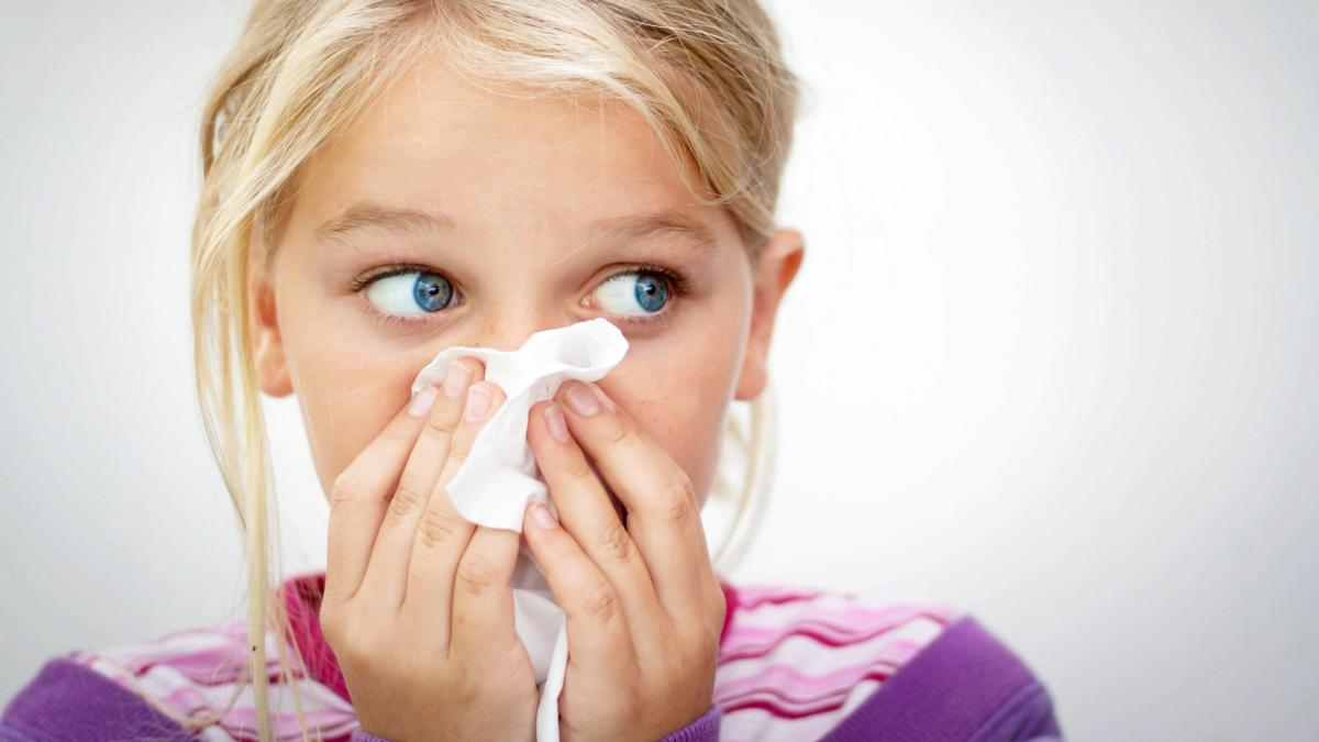 носові кровотечі у дітей
