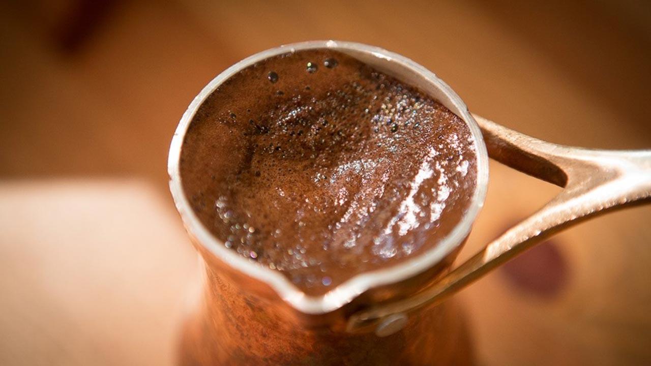як заварити каву в турці