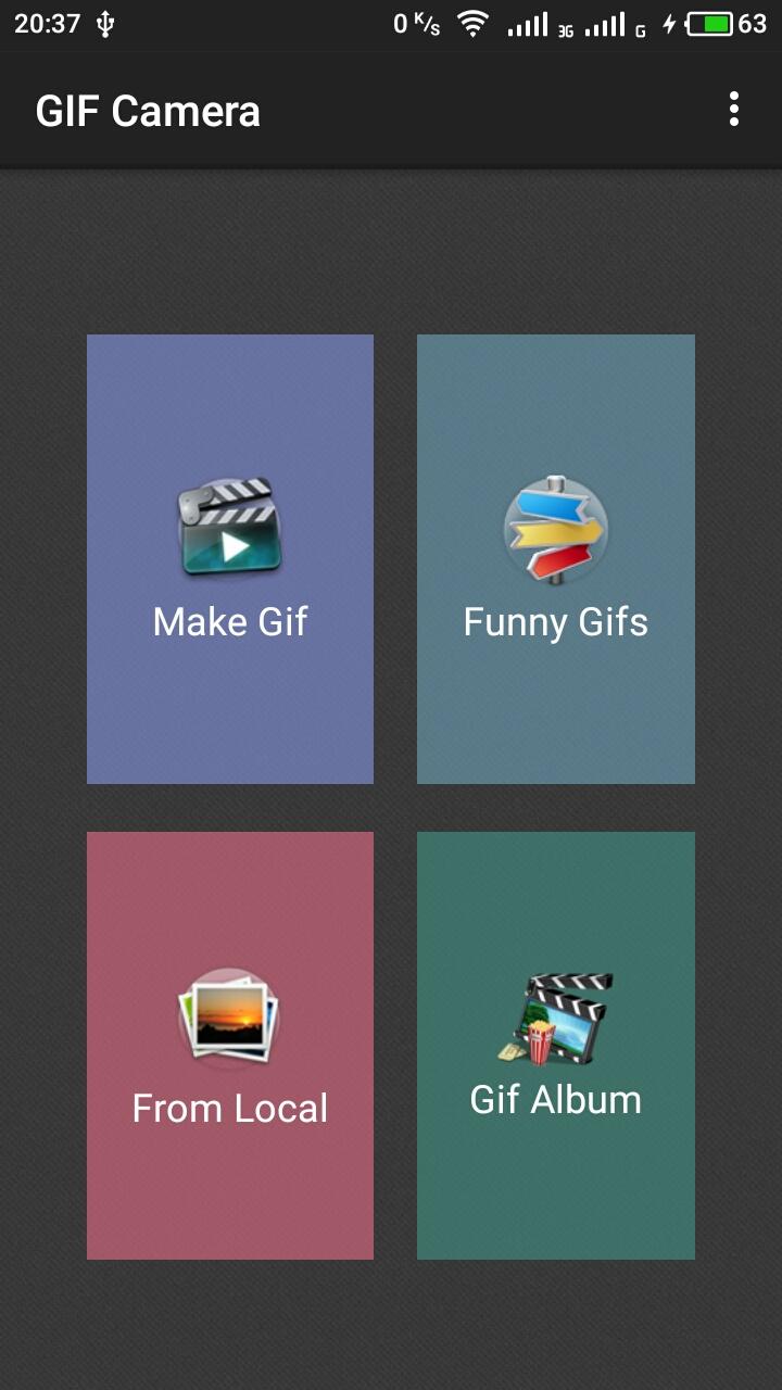 Приложение GIF Camera