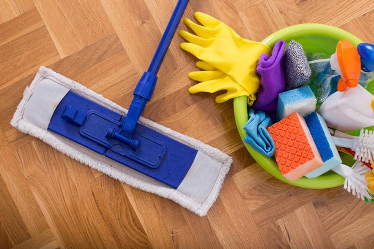Влажная уборка-борьба с вирусами