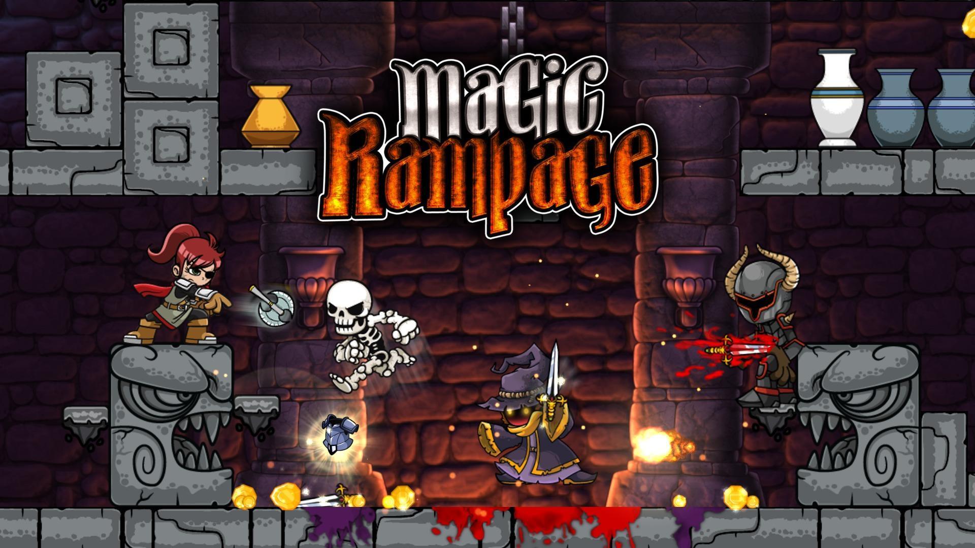 9 игр для андроид, работающих без интернета - magic rampage