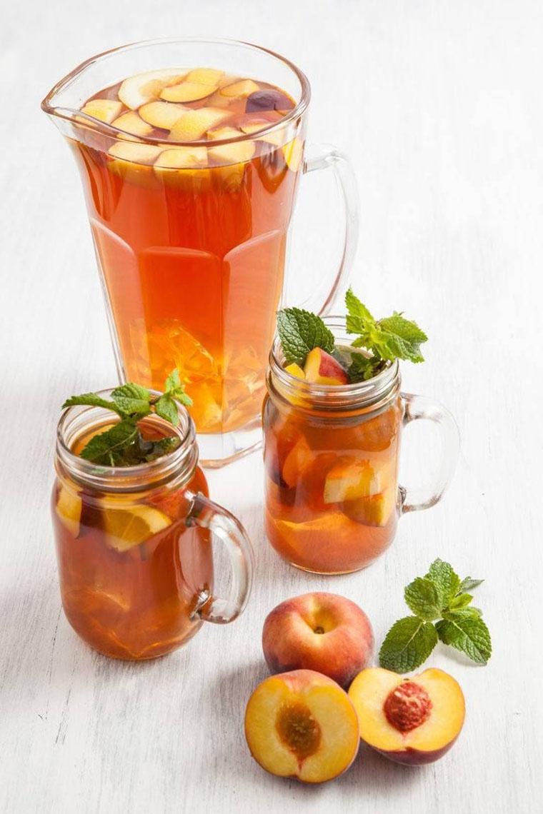 Чай з персиком