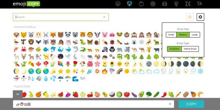 EmojiCopy-скриншот.