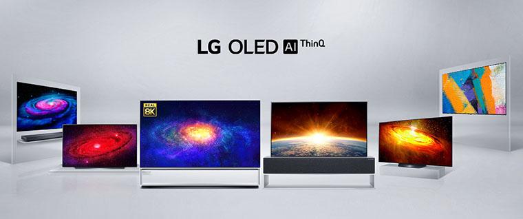 LG OLED Lineup 2020