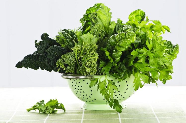Листовая зелень-белок