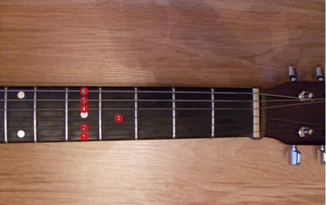Настройка гитары-по ладам