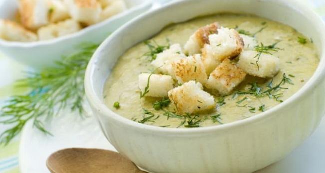 Суп-пюре-из кабачков