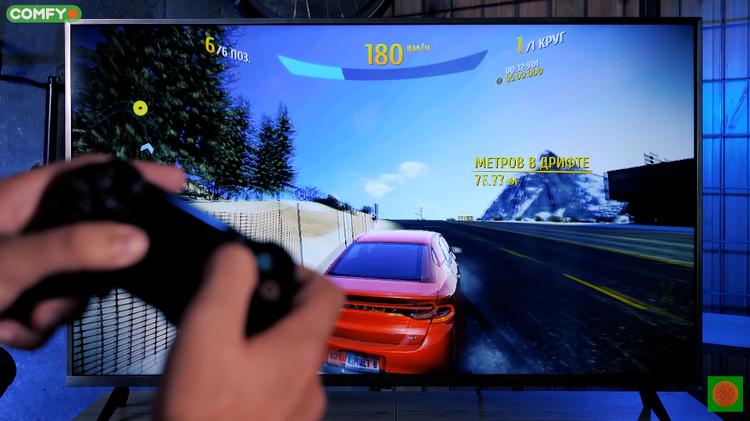 Xiaomi Mi TV UHD 4S-игры