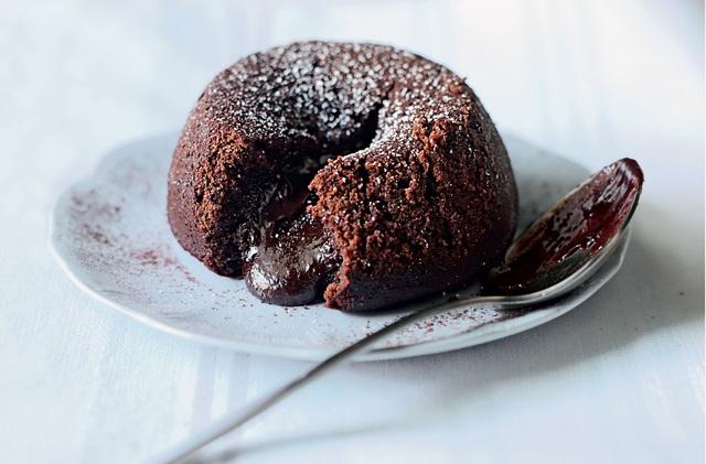 Chocolate Fondant-приготовление
