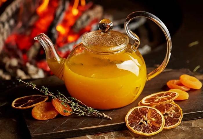 Облепиховый чай-рецепт