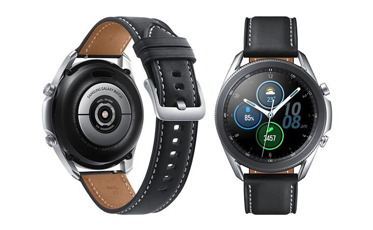 """Итак, согласно его данным, новая модель <a href=""""https://comfy.ua/smart-watches/brand__samsung__watch_seriya__samsung-galaxy-watch/"""" target=""""_blank"""">умных часов от бренда Samsung</a> получит девять разных вариантов дизайна — пять вариаций для модели 45mm и четыре для 41mm."""
