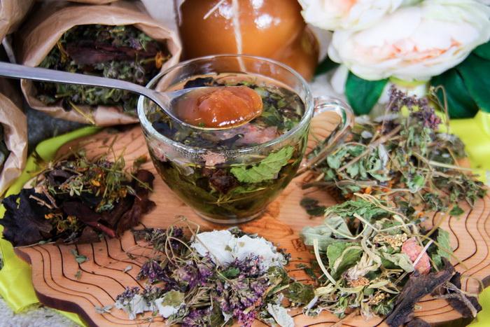 Травяные смеси-чаи