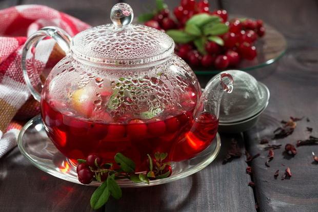 Вишнево-мятный чай-рецепт