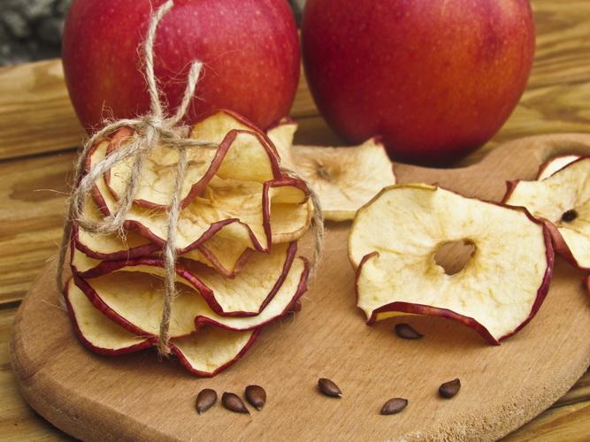 Яблочные чипсы-снек