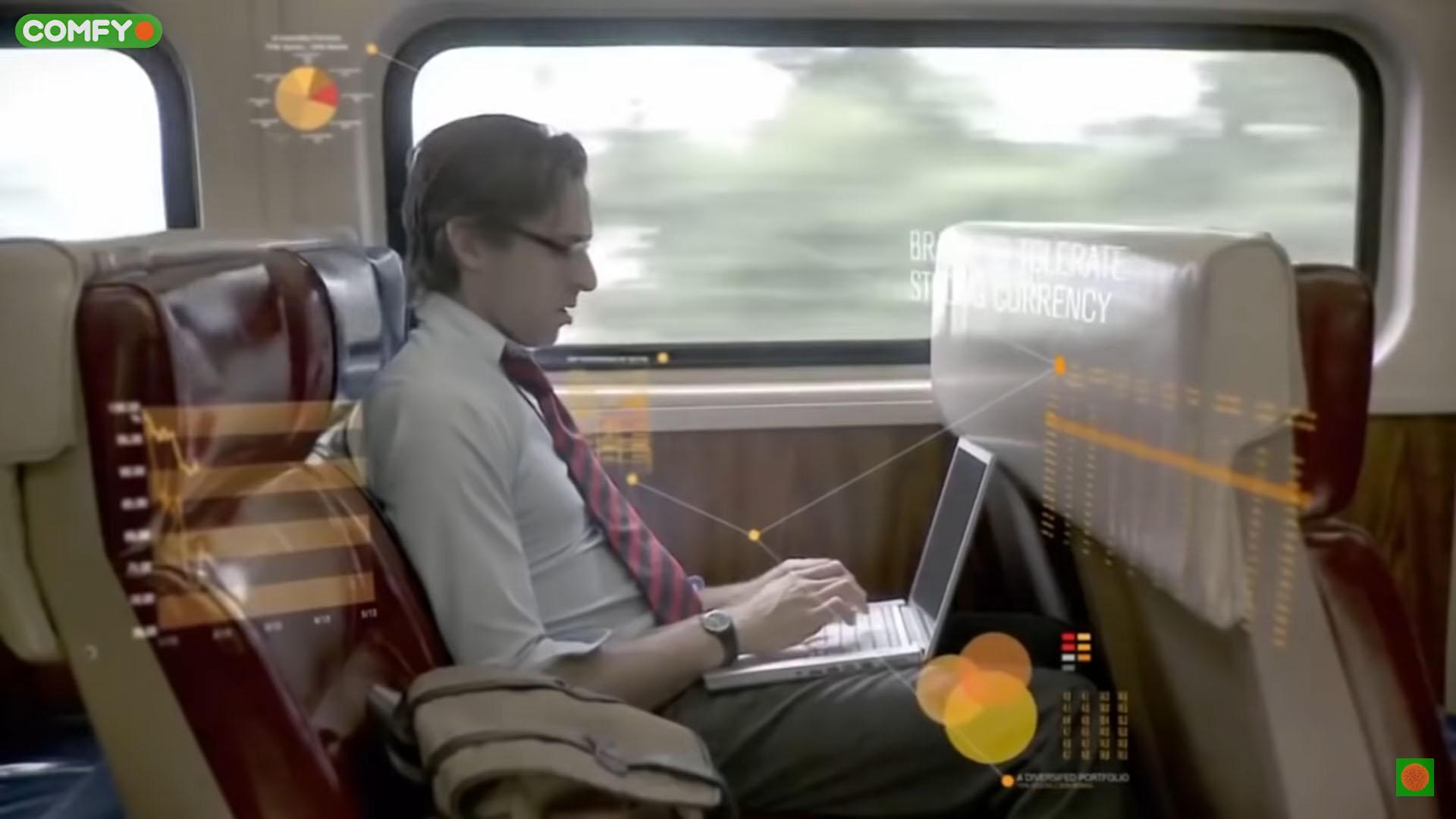 использование 5G в поезде