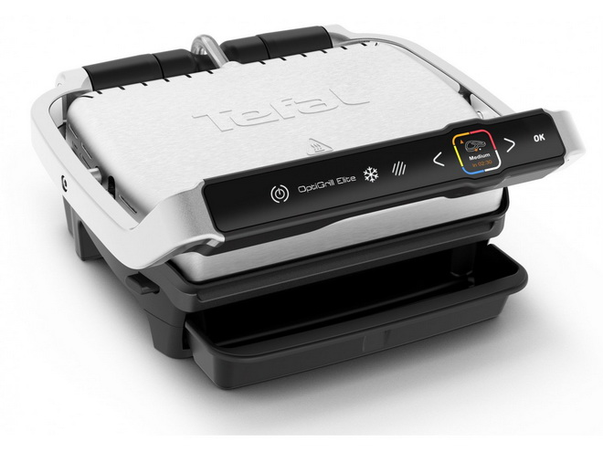 Гриль-барбекю-Tefal GC750D30 OptiGrill Elite