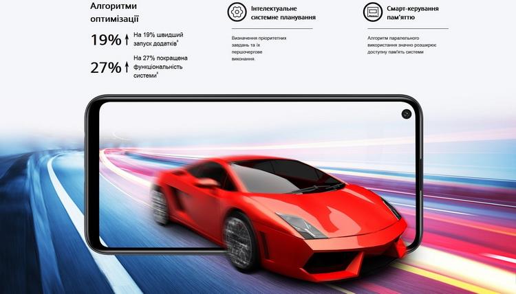 Huawei P40 lite E-быстродействие