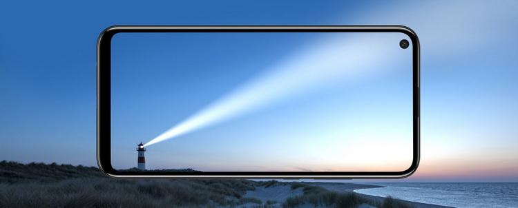Huawei P40 lite E-экран