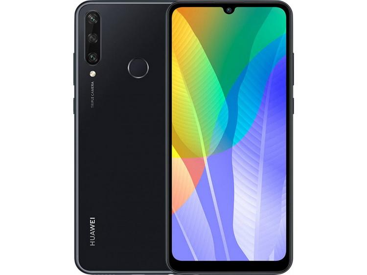 Huawei Y6p Black-ракурсы